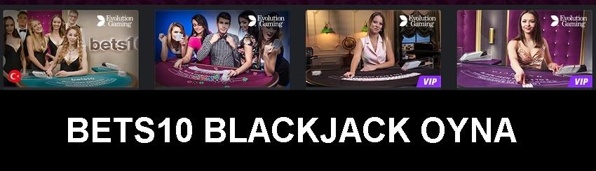 bets10 blackjack oyna