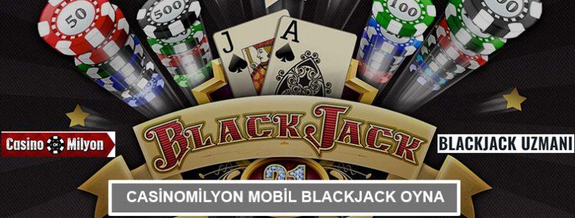 Casinomilyon Mobil Blackjack Oyna