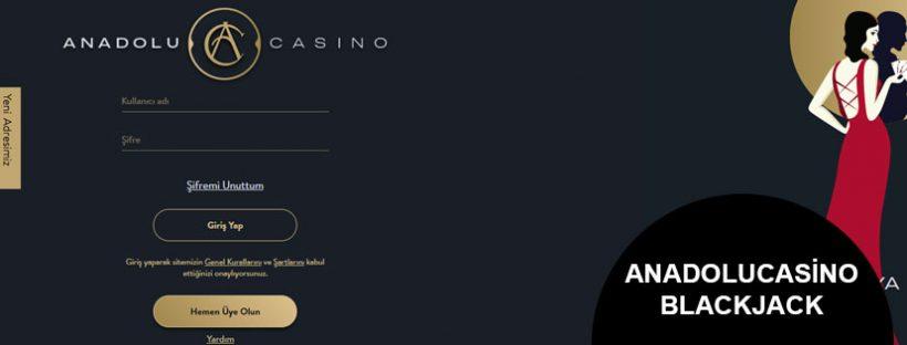 Anadolu Casino Blackjack