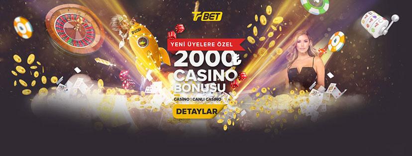 Trbet Casino İlk Üyelik Bonusu 2000 TL Oldu