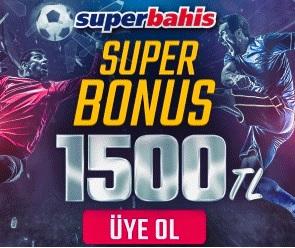 Superbahis 1500 TL Bonus
